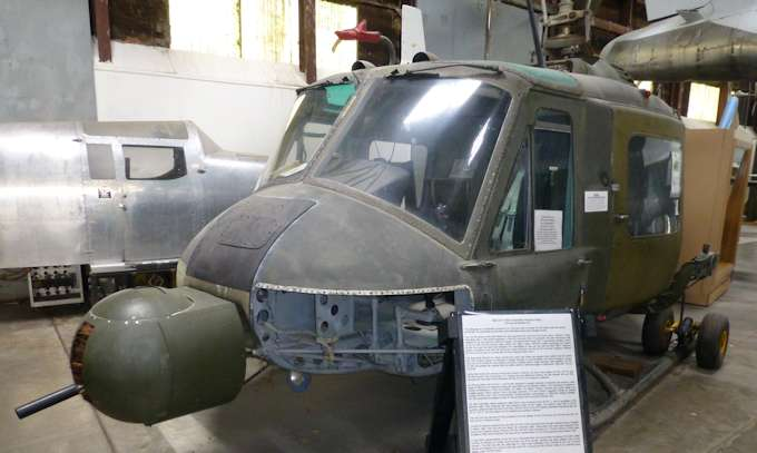 M Bel Airport bell uh 1m iroquois huey
