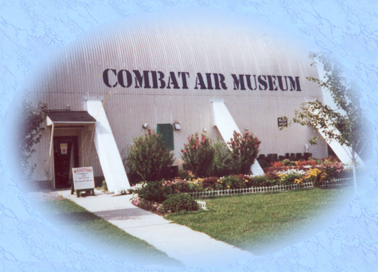 Front of Combat Air Museum