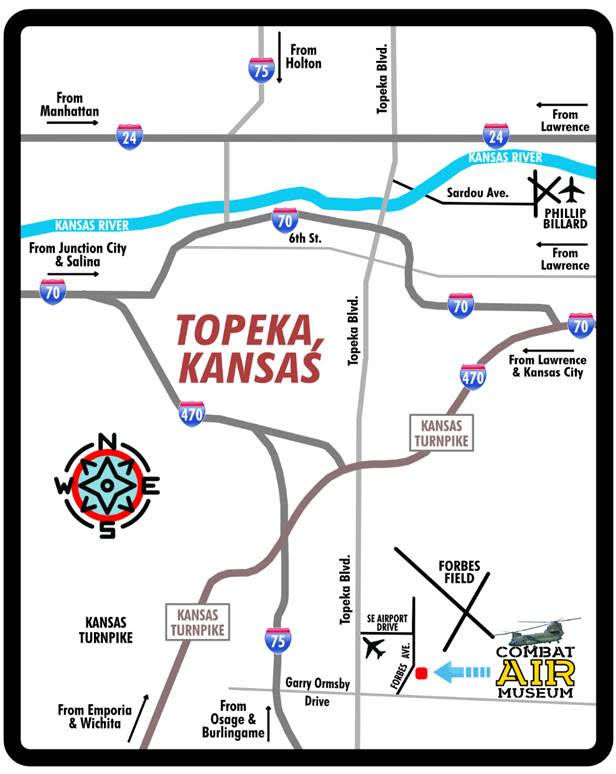 Map of Topeka, Kansas