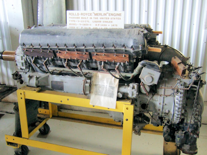 Rolls royce merlin engine display for Medical motors rochester ny