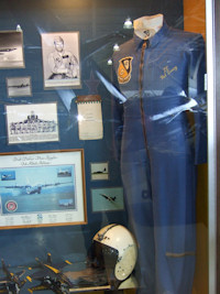 Hal Loney's Flight Suit exhibit
