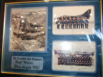Blue Angels 1980 plaque