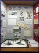 Capt. John F. Begert, Fighter Pilot exhibit