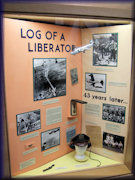Log of a Liberator exhibit