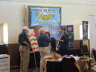 Topeka Tourism Expo booth
