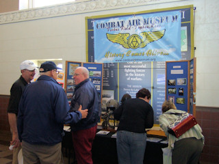 Booth at Topeka Tourism Expo
